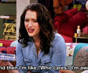 awesome, quotes, and 2 broke girls image