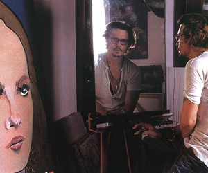 johnny depp, art, and actor image