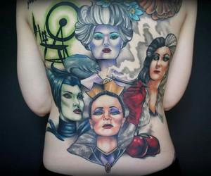 tatto, ursula, and evil queen image