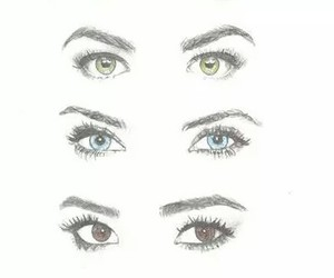 art, eyes, and pretty little liars image
