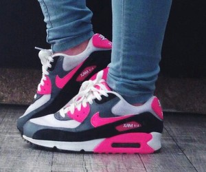 girl, nike, and pink image