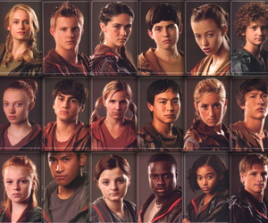 hunger games, tributes, and katniss image