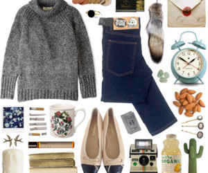 aesthetic, indie, and Polyvore image