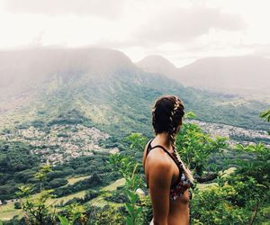 girl, jungle, and summer image