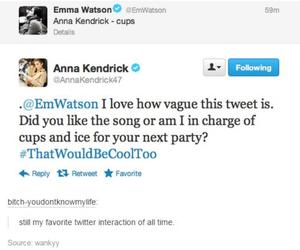 twitter, anna kendrick, and emm watson image