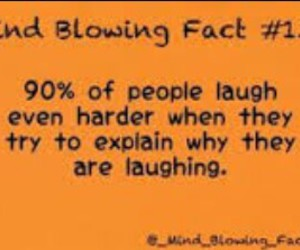 fact, funny, and laughing image