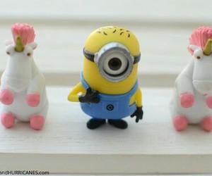 fluffy, minions, and unicorn image
