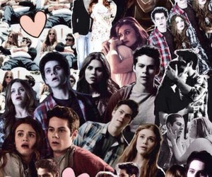 stydia, teen wolf, and wallpaper image