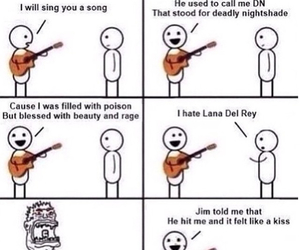 funny, ultraviolence, and lana del rey image