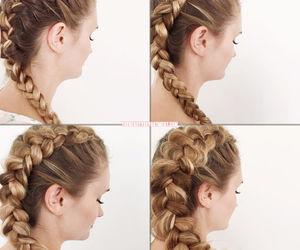 diy, hair, and hair style image