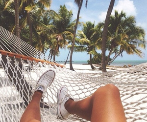 beach, tropic, and summer image