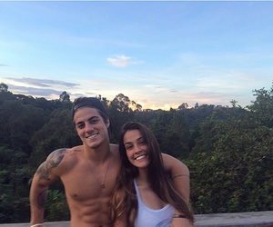 couple, smile, and summer image