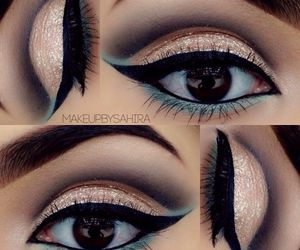 beautiful, eyes, and eyeshadow image
