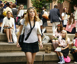 gossip girl, blake lively, and Serena Van Der Woodsen image