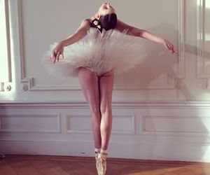 ballerina, ballet shoes, and beautiful image