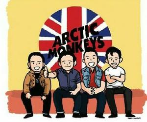 arctic monkeys, alex turner, and jamie cook image