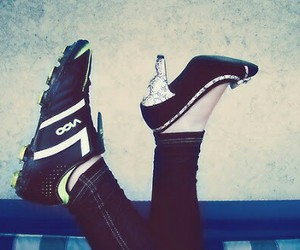 soccer, football, and shoes image