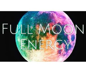 colors, energy, and full moon image