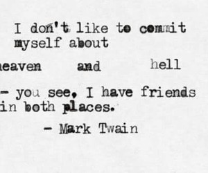 quote, heaven, and hell image