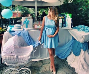 baby and blue image