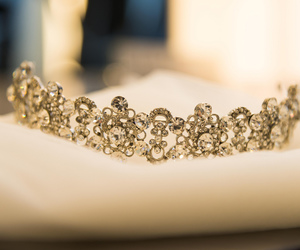 diadem, diamonds, and girly image