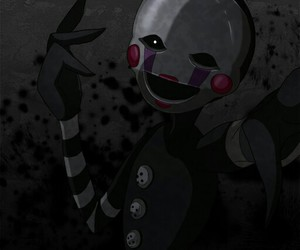 marionette, puppet, and five nights at freddys image