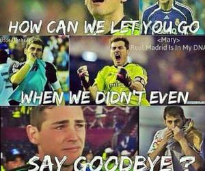 goodbye, love, and real madrid image