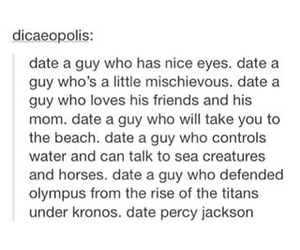 YES!, percy jackson headcannons, and percy jackson headcanons image