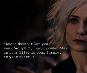 quote, death, and thoughts image