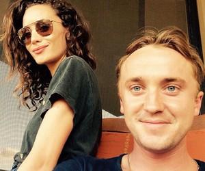 couple, tom felton, and cute image