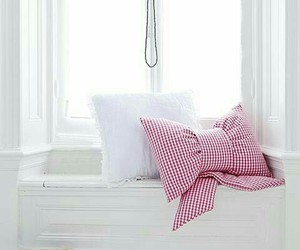 white, pillow, and book image