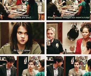 brandon, callie, and the fosters image