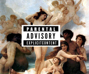 art, pale, and parental advisory image