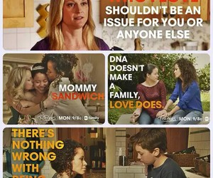family, love, and the fosters image