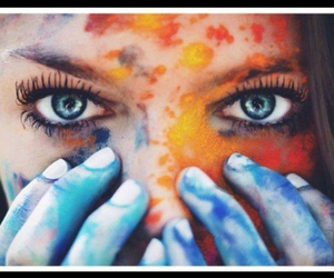 blue, eyes, and hipster image