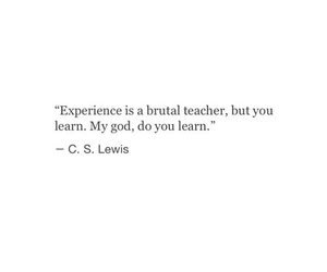 quotes, experience, and learn image