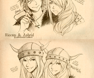 astrid, dessin, and ruffnut image