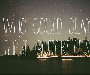 butterfly, quote, and all time low image
