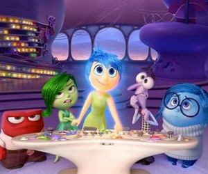 inside out and disney image