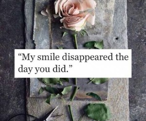 rose, love, and smile image