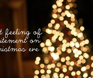 christmas, feeling, and christmas eve image