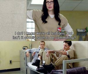 fun, funny, and orange is the new black image