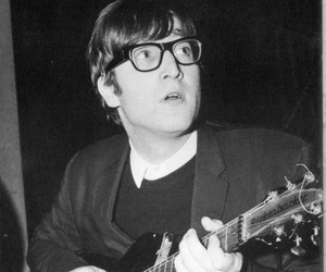 johnlennon, glass, and 1963 image