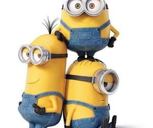 minions, bob, and kevin image