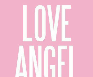 pink, wallpaper, and angel image