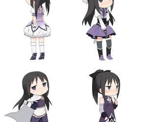 anime, mahou shoujo, and madoka magica image