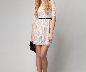 dress, Bershka, and fashion image