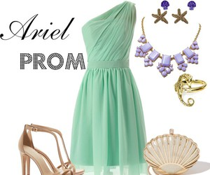 ariel, fashion, and Polyvore image