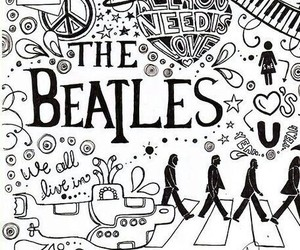 beatles, 🎶, and music image