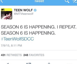 finally, teen wolf, and tyler posey image